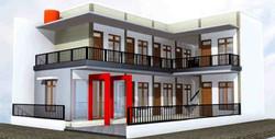 Rumah Kost 2 Lantai oleh Royal