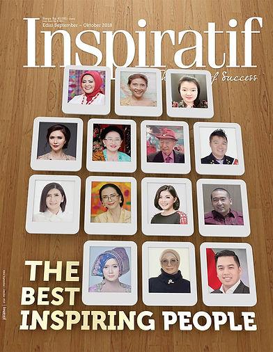 The Best Inspiring People versi majalah