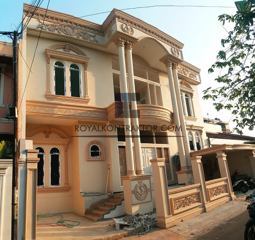 royal kontraktor rumah klasik proyek bap
