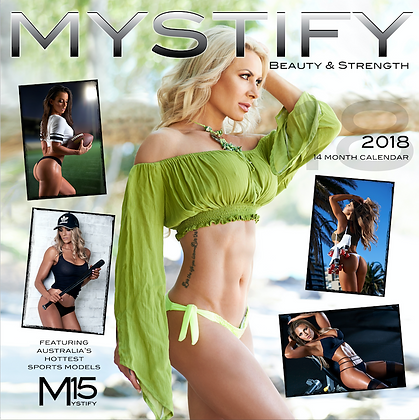 2018 MYSTIFY Beauty & Strength Calendar