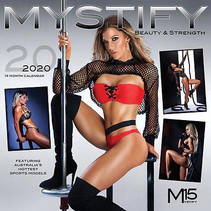 Mystify 2020 beauty & strength calendar