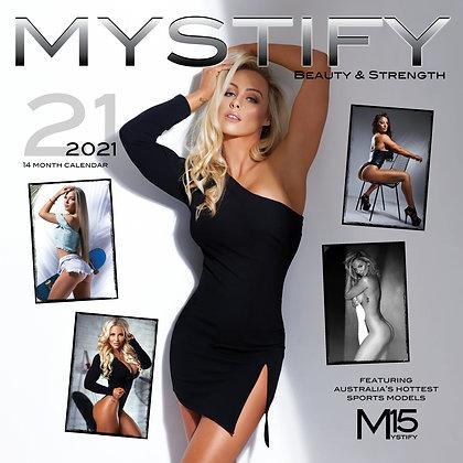 2021 MYSTIFY CALENDAR beauty & Strength