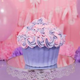 Oversized Cupcake Cake