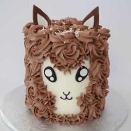 Chocolate Llama