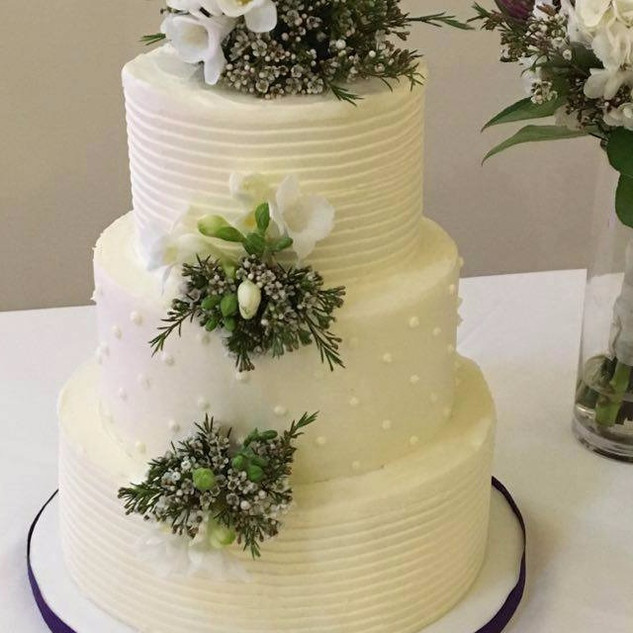 Stripes and dots ~ Buttercream