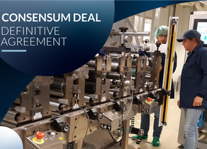 Ynvisible Interactive Inc. Enters into Definitive Agreement to Acquire Consensum Production AB