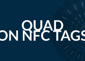 Quad Industries and ynvisible jointly demonstrate electrochromics printing onto NFC (RFID) tags