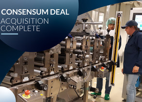 Ynvisible Interactive Completes Acquisition of Consensum Production AB