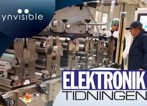 Ynvisible's acquisition of Consensum featured in Elektronik Tidningen