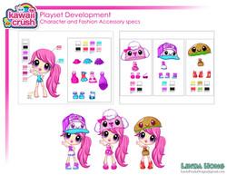 Kawaii Crush Playset Doll specs