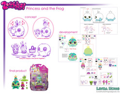 Zoobles Princess and the Frog