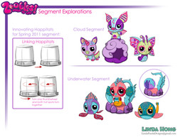 Zoobles Character Designs
