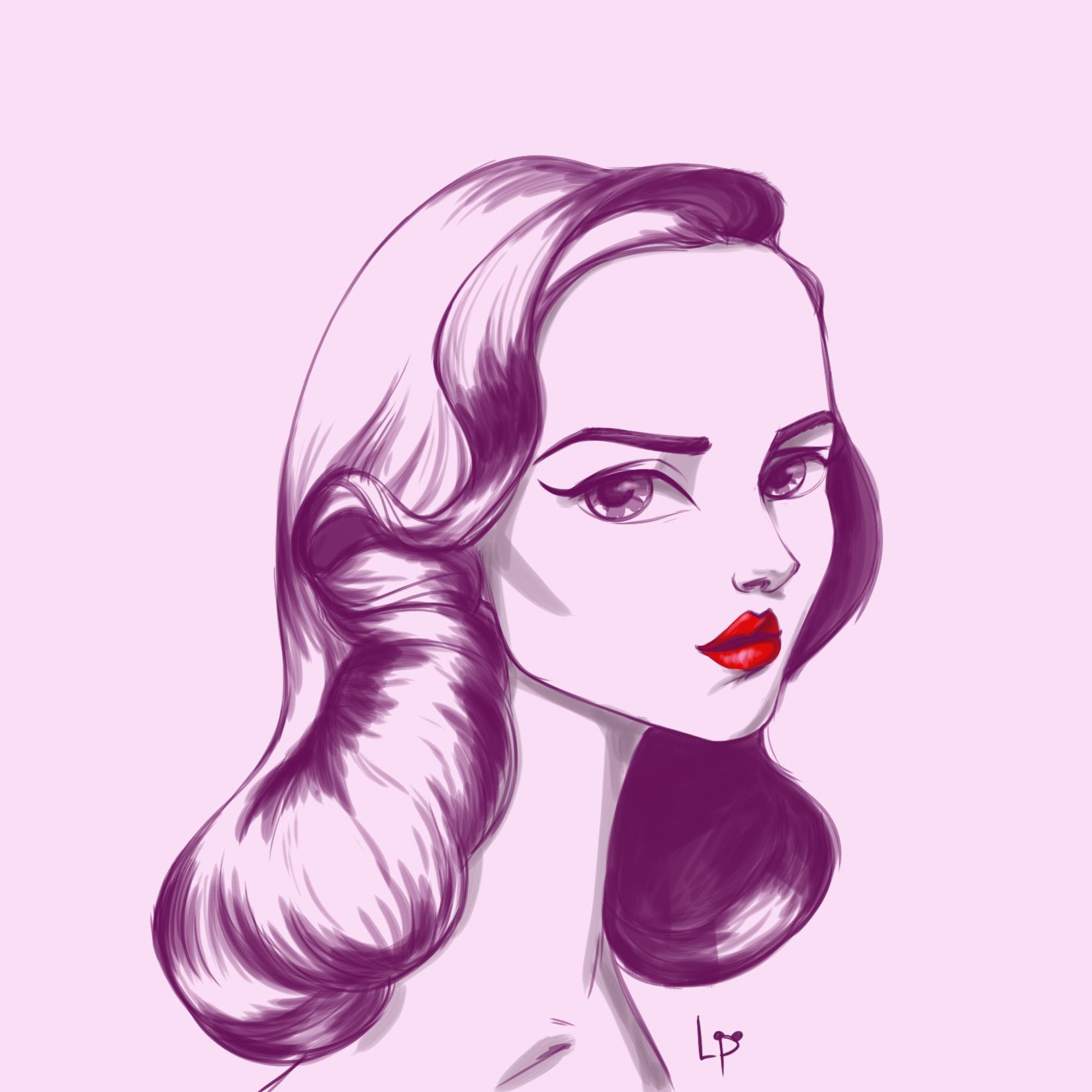 50s lady