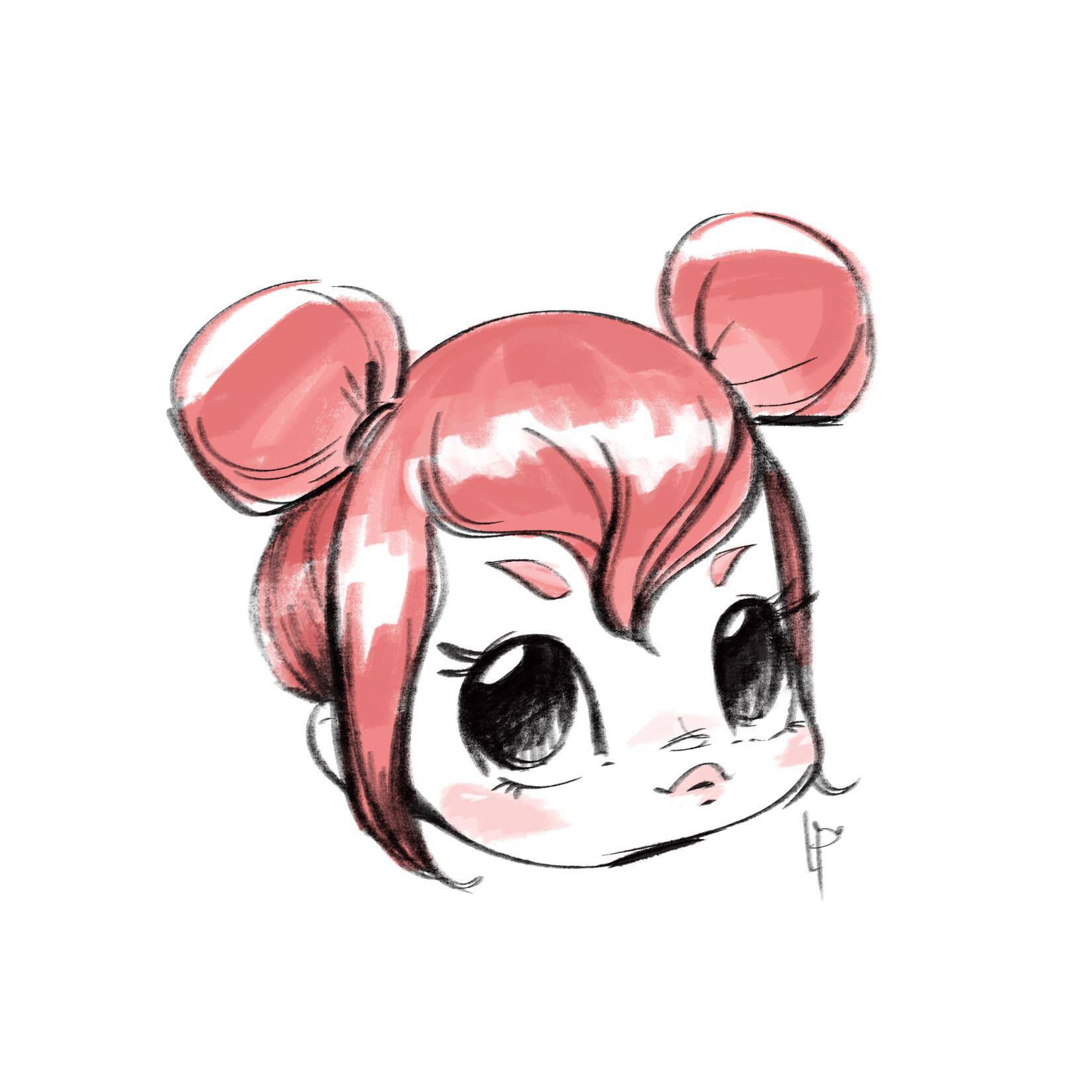 pink buns