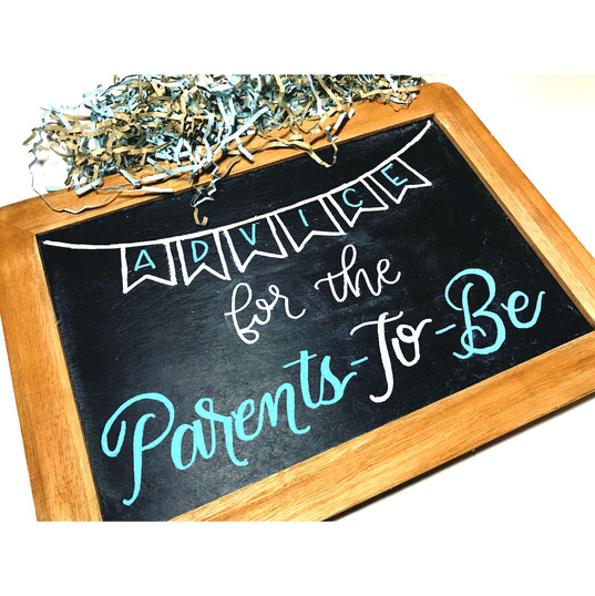 Advice for the Parents-To-Be