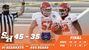 Kats Start Fast, Stave off Strong UCA Comeback in Victory over Bears