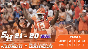 15-Point 4th Quarter Lifts Shorthanded Kats over Rival Stephen F. Austin