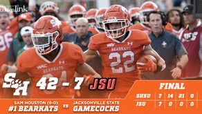 Bearkats Overcome Slow Start to Rout Jacksonville State