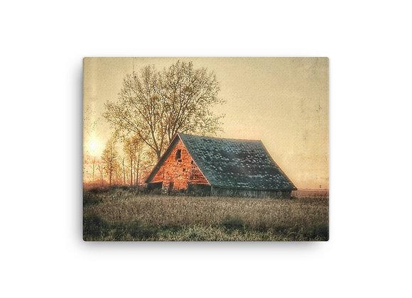 Light Pillar Barn Canvas