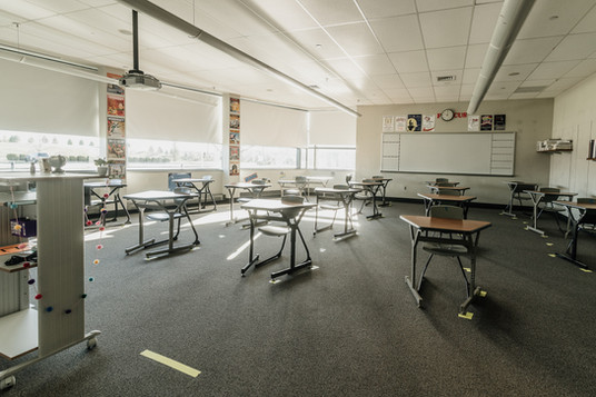 One of our classrooms