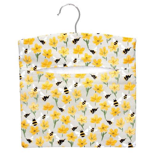 Bee peg bag