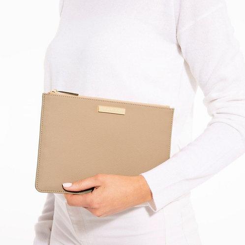 Pebble perfect pouch - Tan