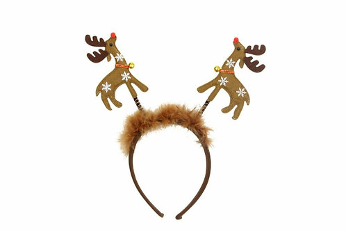 Fabric reindeer boppers (32310)
