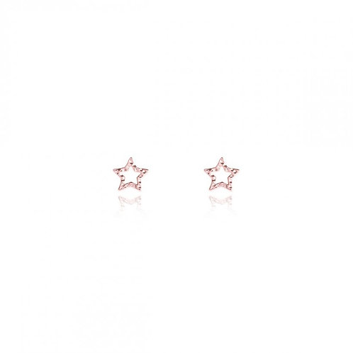 Small outline star studs (2557)