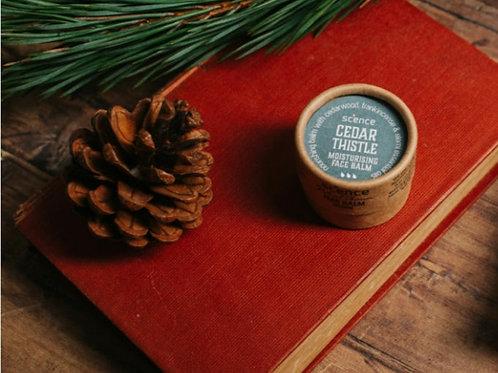 Cedar thistle face balm 17g