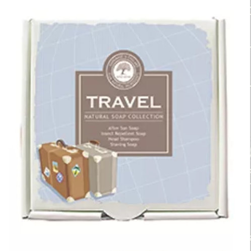 The travel soap collection