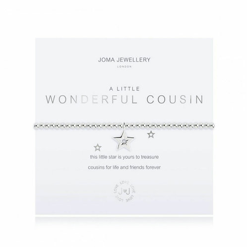 A little wonderful cousin bracelet