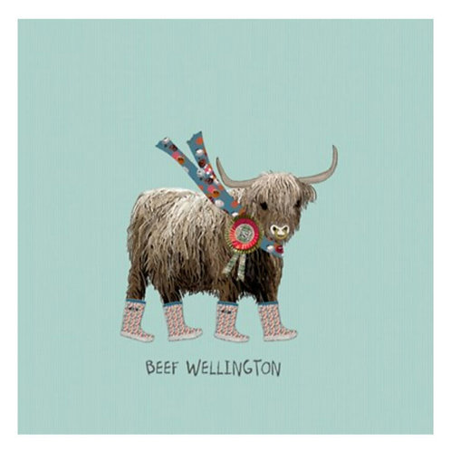 Beef wellington -Greeting Card