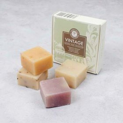 The vintage soap collection