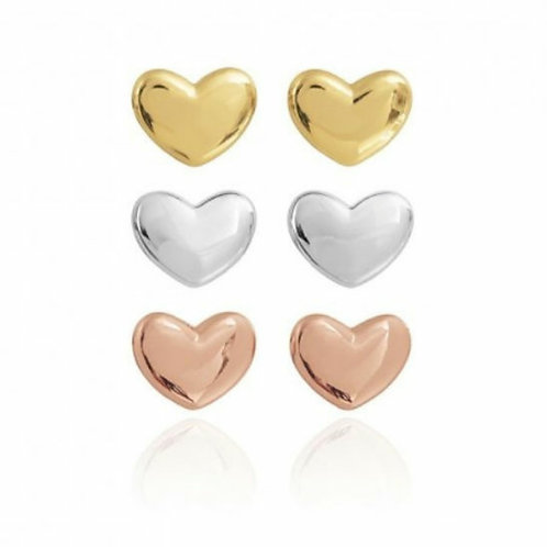 Florence heart earring ( set of 3 )