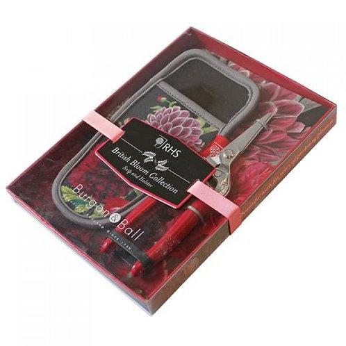 RHS British Bloom- Pocket pruner & holster set