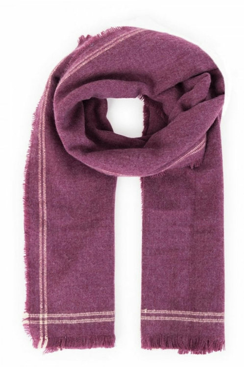 Molly scarf- Damson