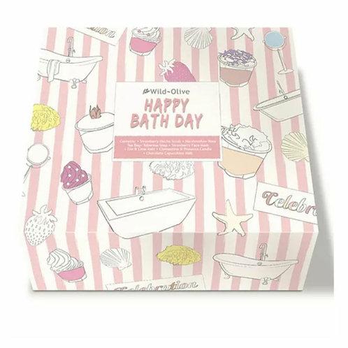 Happy Bath Day gift set