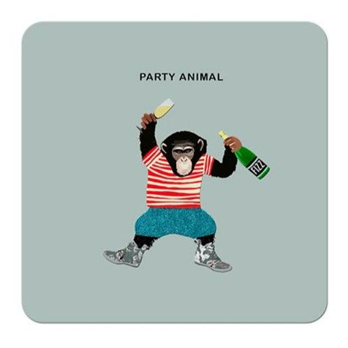 Party animal - coaster