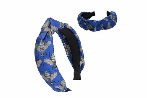 Blue Bee headband