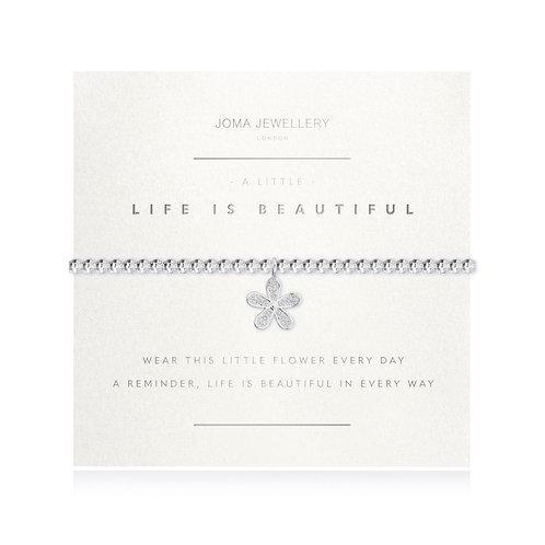 A Little Life Is Beautiful Bracelet
