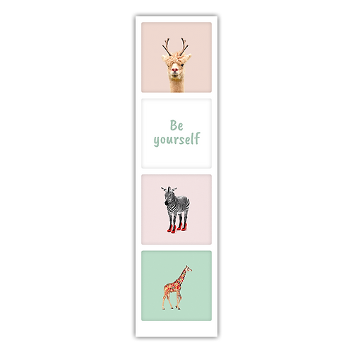 Be yourself bookmark