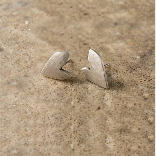 True love stud earrings
