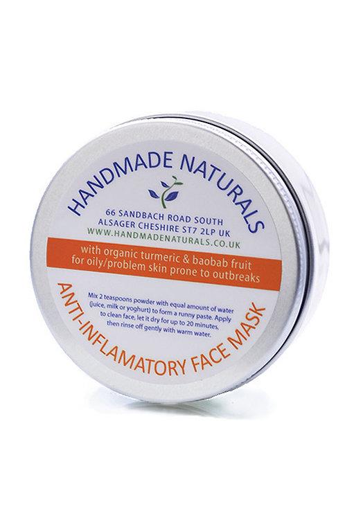 Anti-inflammatory face mask