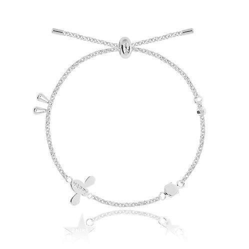 Happy- bee detail adjustable bracelet