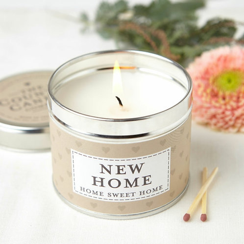 New home candle - sentiments collection
