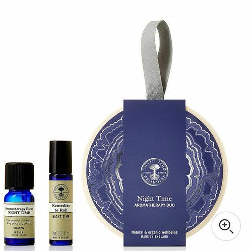 Night time aromatherapy duo