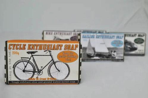 Cyclist enthusiast soap 200g