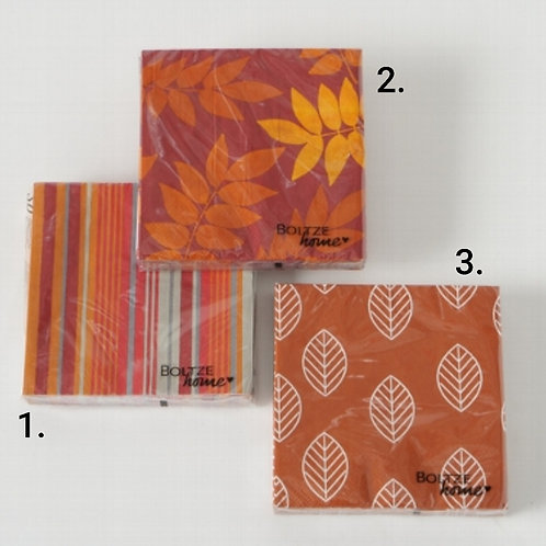 Orange herb napkins