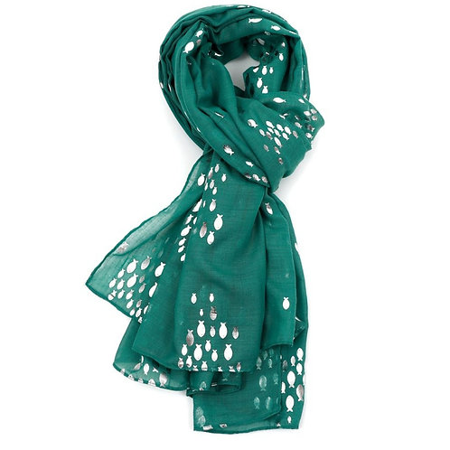 Foil fish scarf