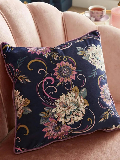 Fabulously floral cushion